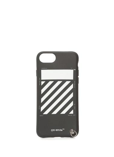 Off-White Cep Telefonu Kılıfı Siyah